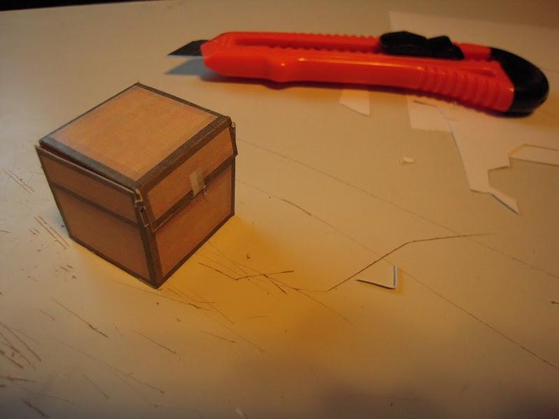 fabriquer épée en carton