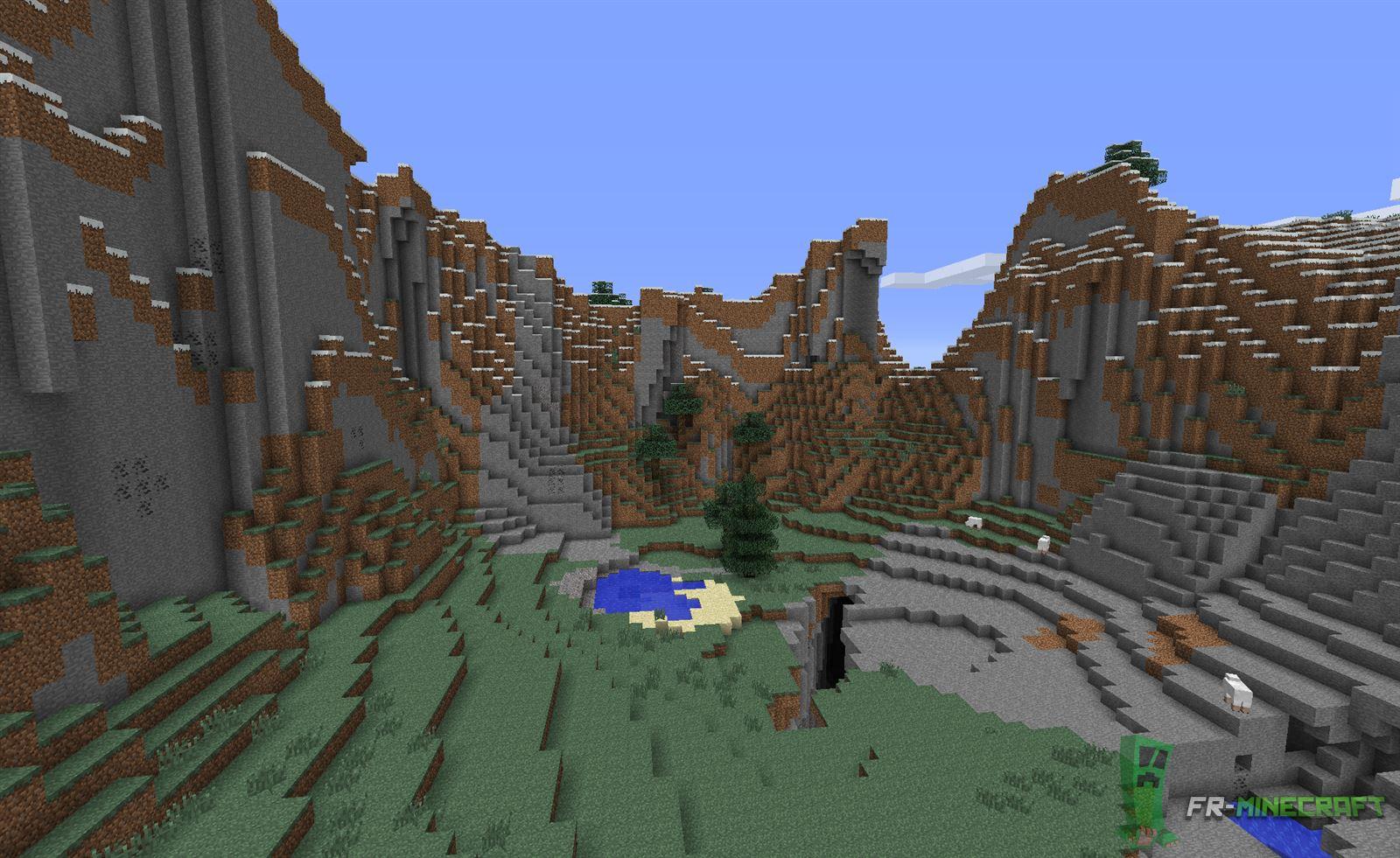 Minecraft Biome Montagnes