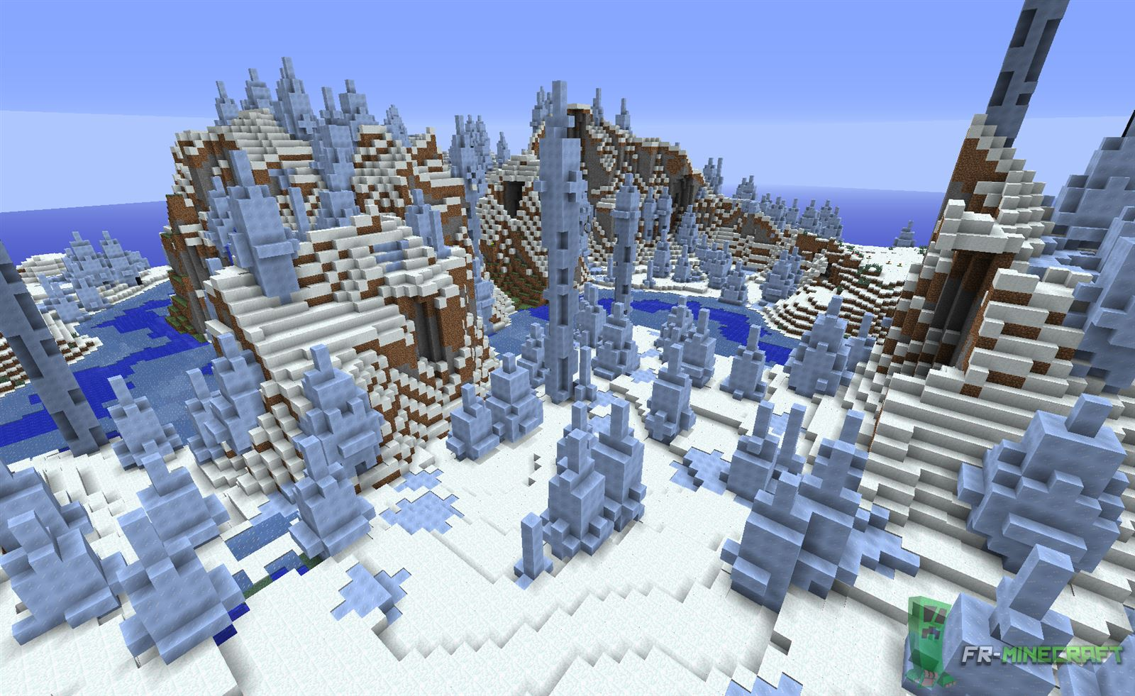 how to find ice spike biome