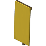 Yellow Wall Banner<br>