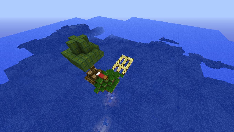 Map Island Objectif Minecraft