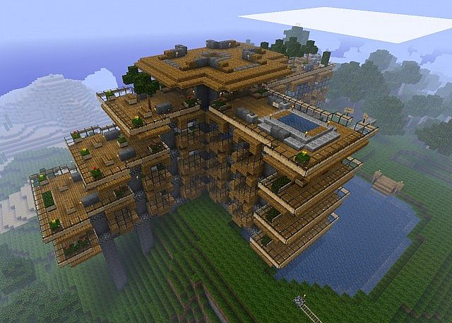 Préférence Minecraft : Map Minecraft : Hillside Manor HR66