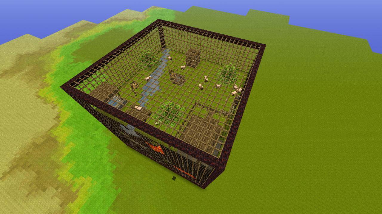 Minecraft map minecraft cubic world