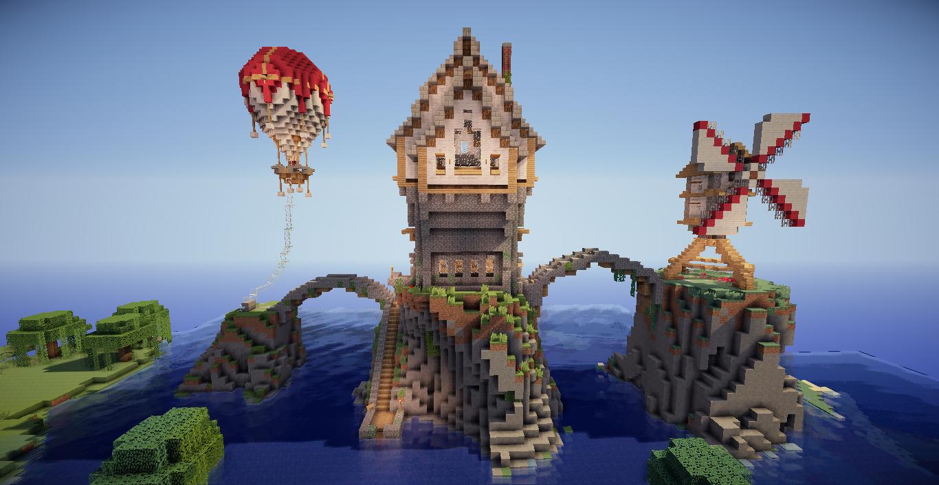 Belle Ville Minecraft