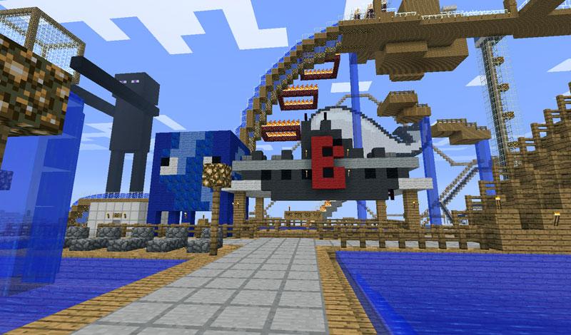 map funfair minecraft