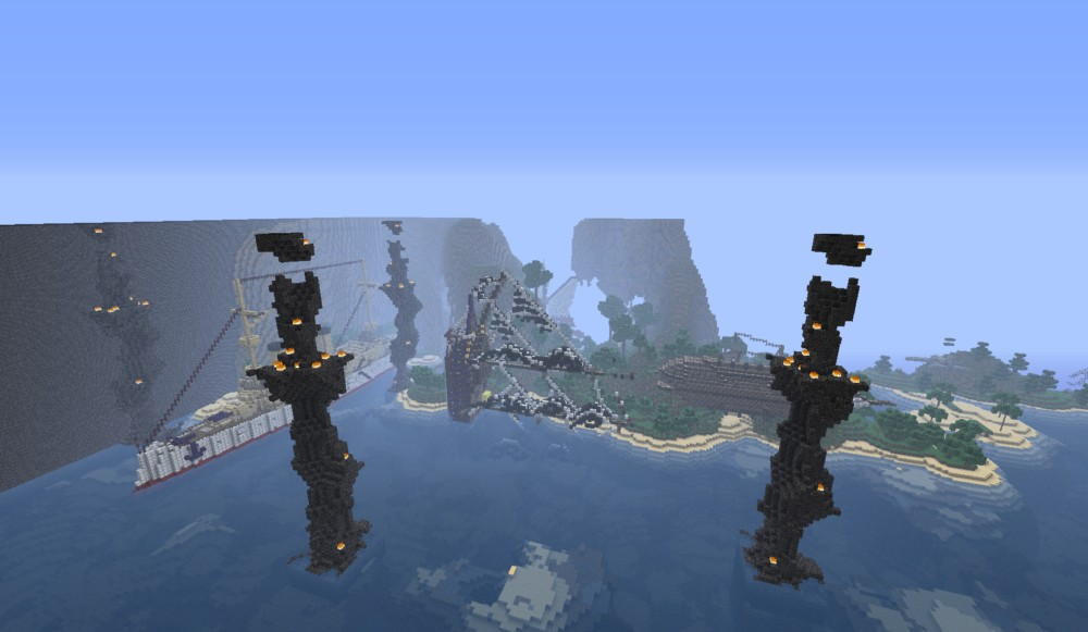 Minecraft Map Minecraft Lost In Bermuda Triangle