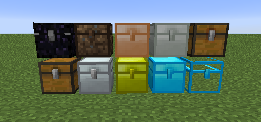 coffres iron chests