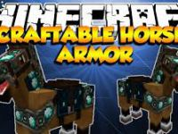 Mod Minecraft Craftable Horse Armor