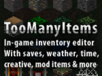 Mod Minecraft Too Many Items 1.2.2