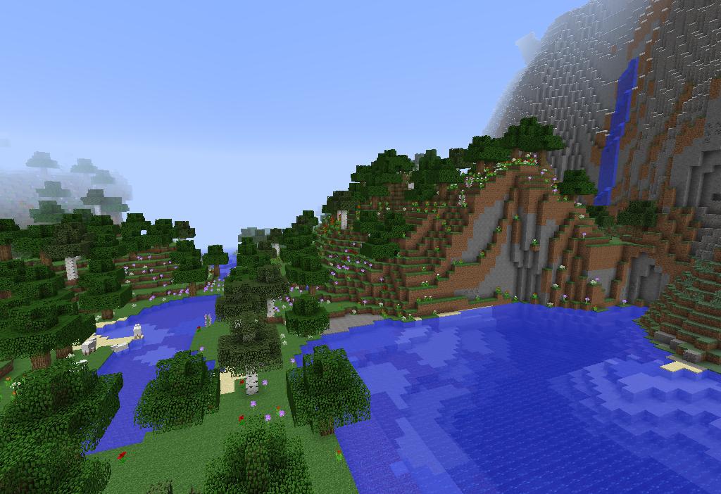 Minecraft Seed Minecraft Multitude De Biomes En 1 7 2