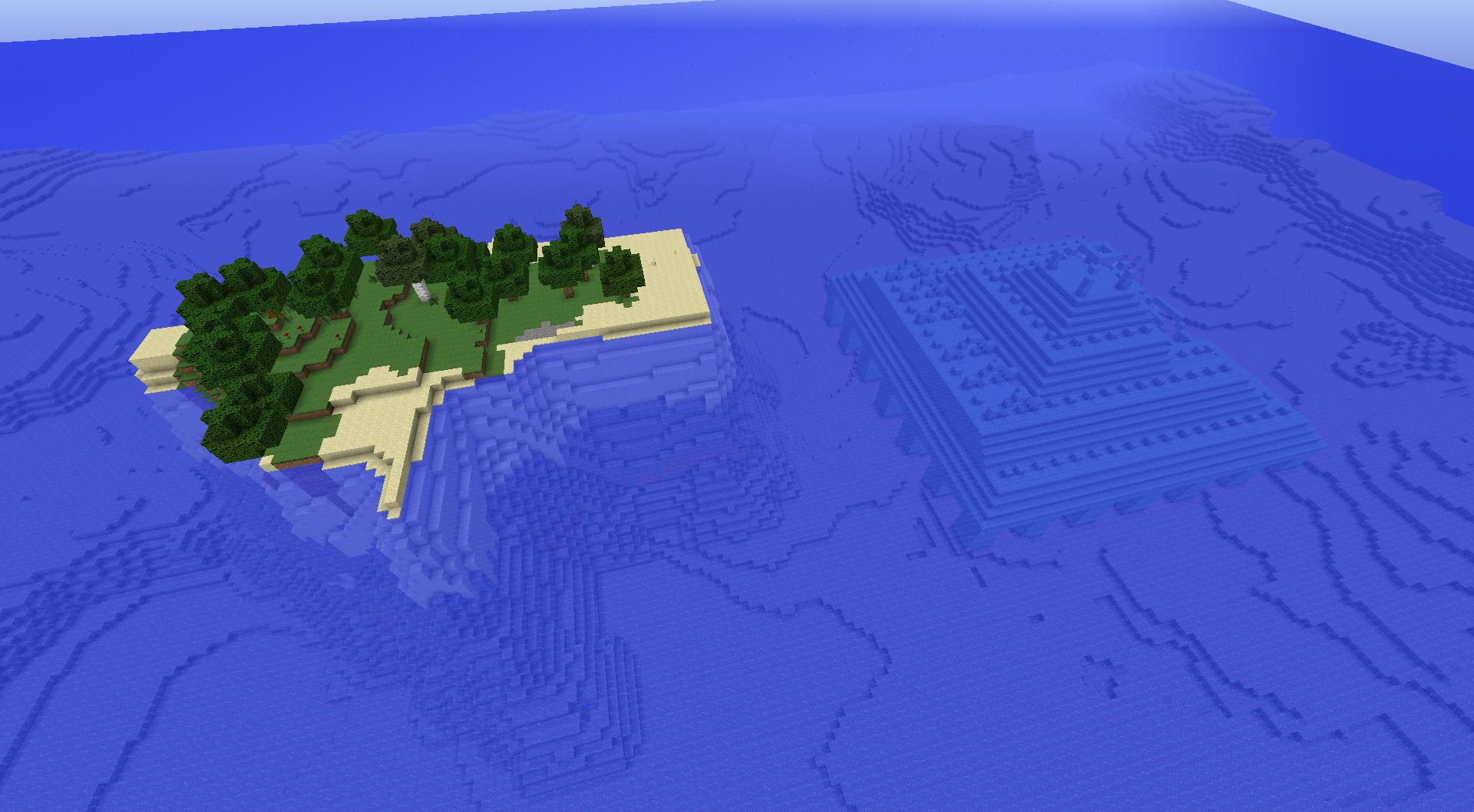 comment trouver temple sous marin minecraft