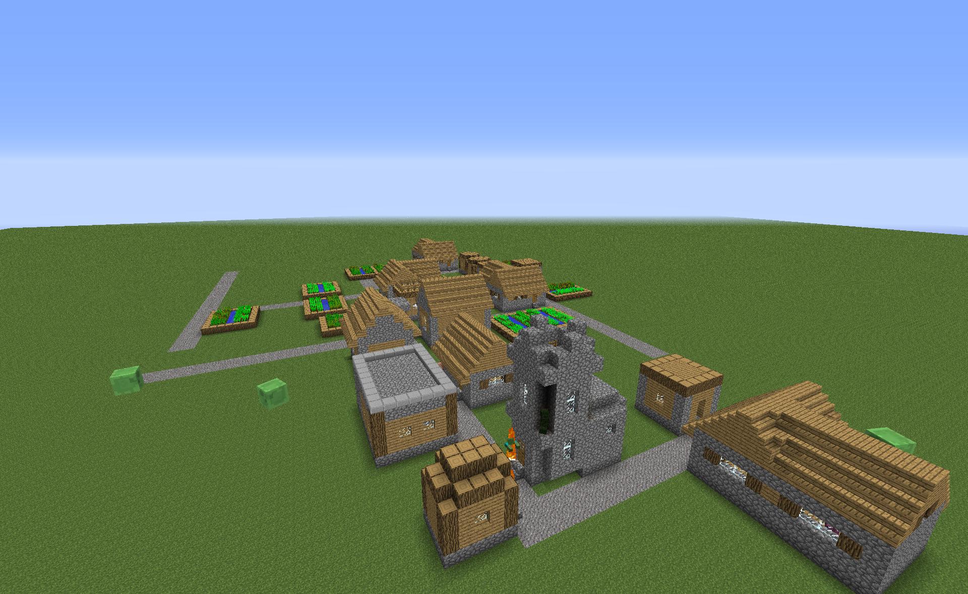 Un monde ouvert Le jeu est un open world, composé de cubes et d'éléments de décorations dans le style voxel rendu populaire par  Minecraft.Les dernières mise à jour de Minecraft semblent beaucoup inspirer les développeurs de Hytale. On retrouve toutes les caractéristiques des fonds...