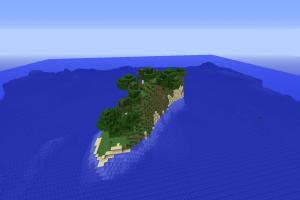 Ile au milieu de l'océan