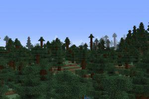 Taïga énorme, village minuscule