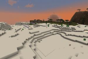 Desert près d'un Village de PNJ
