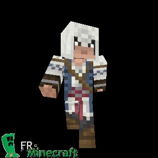 Minecraft Skin Minecraft Connor Kenway Assassin S Creed 3