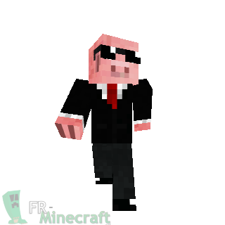 Minecraft skin minecraft mister cochon - Minecraft cochon ...