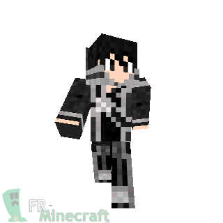 Minecraft Skin Minecraft Kirito Sword Art Online - Skin para minecraft pe de kirito