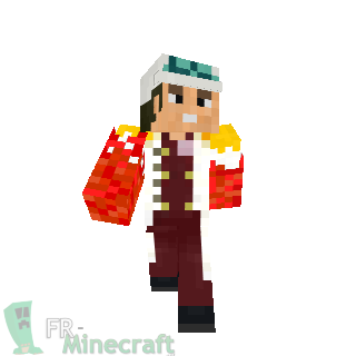 Minecraft Skin Minecraft Akainu One Piece - Skins para minecraft pe one piece