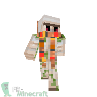 Minecraft skin minecraft golem de fer avec echarpe - Minecraft golem de fer ...