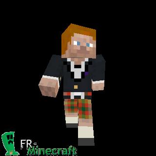 Scottish Steve - Minecraft Xbox 360 Edition