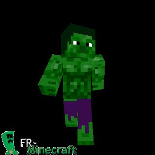 Hulk Minecraft Skin Pictures to Pin on Pinterest - PinsDaddy