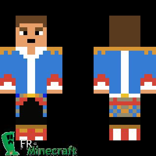 Aperçu de la skin Minecraft Prince