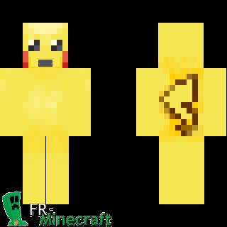 Pokemon Face Skin Images   Pokemon Images Skydoesminecraft Pikachu Minecraft Skin