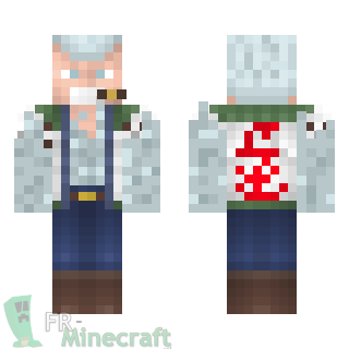 Aperçu de la skin Minecraft Smoker - One piece