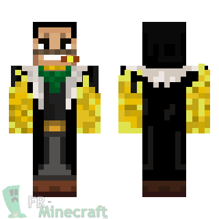 Aperçu de la skin Minecraft Crocodile - One piece