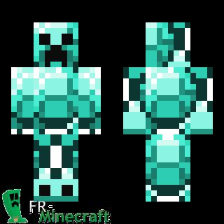 minecraft creeper skin template redemit