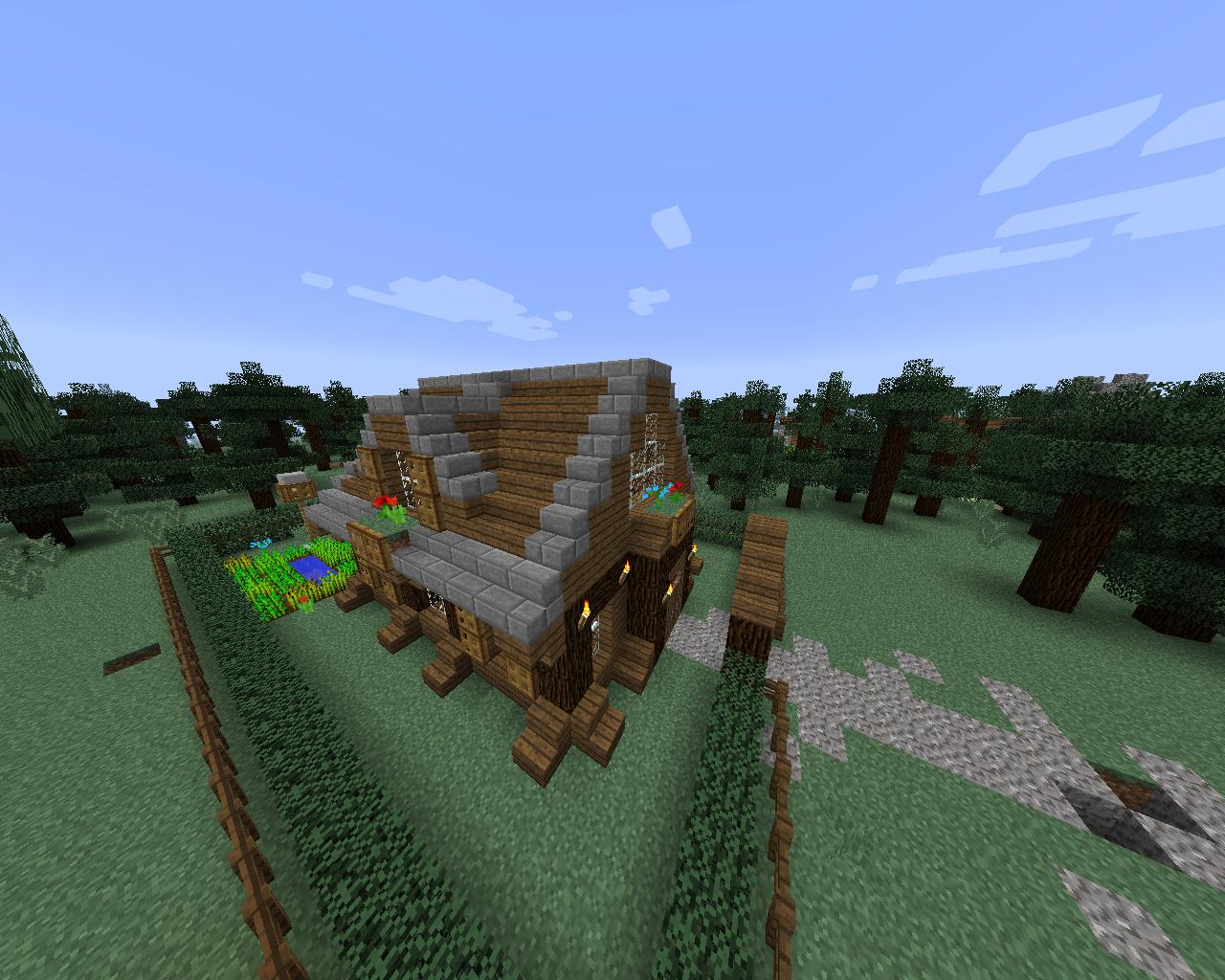 Minecraft Medieval creations - 2