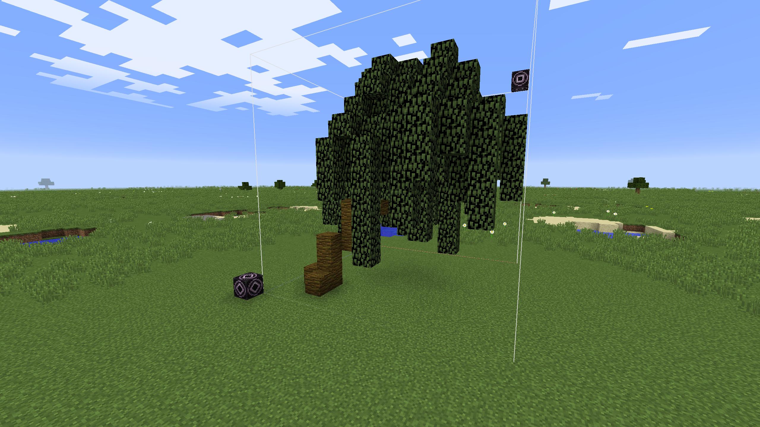 Minecraft Structure Minecraft Saule Pleureur