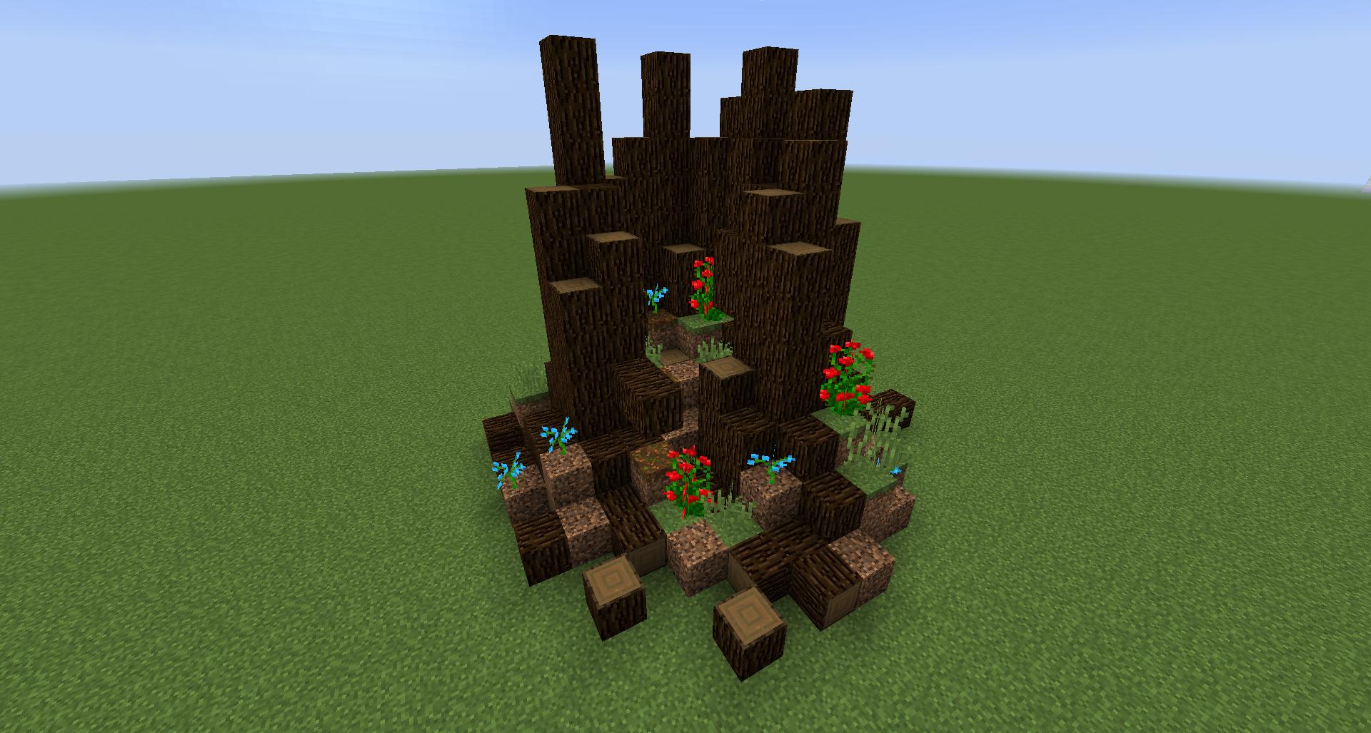 Minecraft actualit minecraft aide et astuces avec fr - Souche d arbre decorative ...