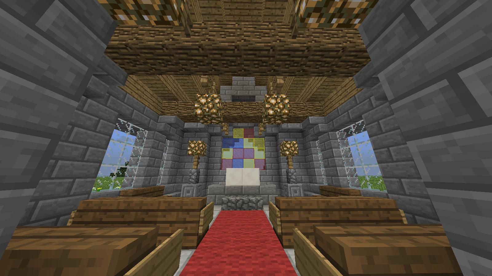 Minecraft Structure Minecraft   Eglise
