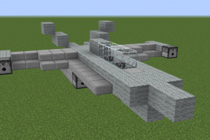 Minecraft structure minecraft avion de chasse - Comment on fait une table d enchantement dans minecraft ...
