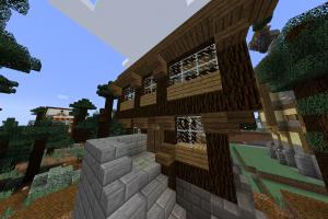 Simple maison médiévale