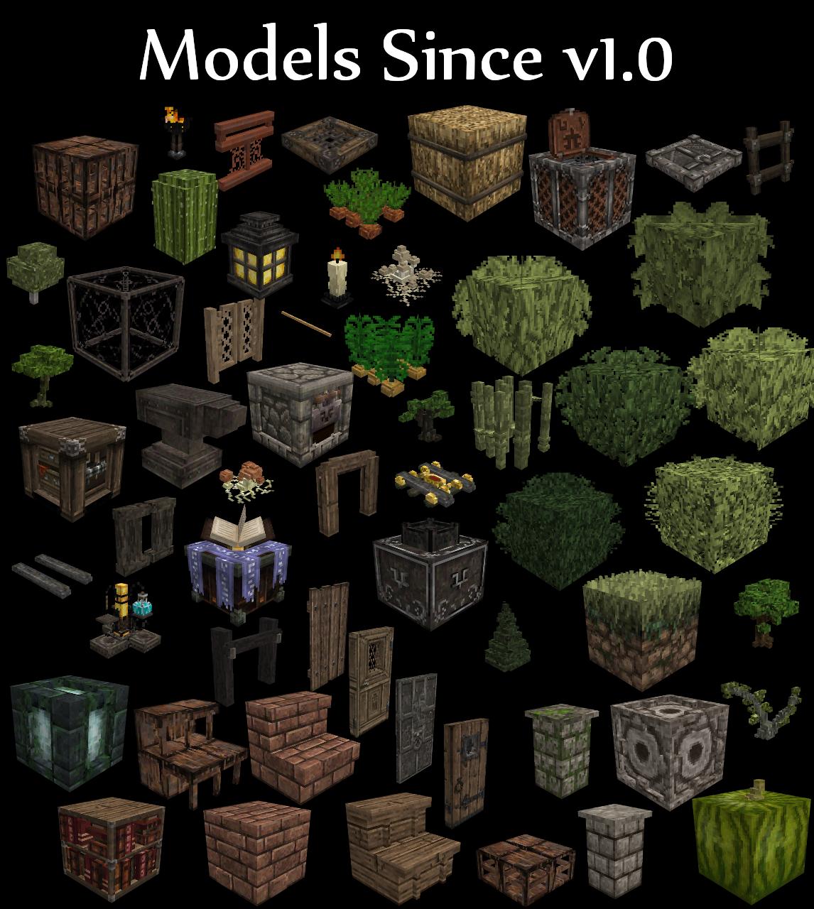 packs de modèles 3D élément installer