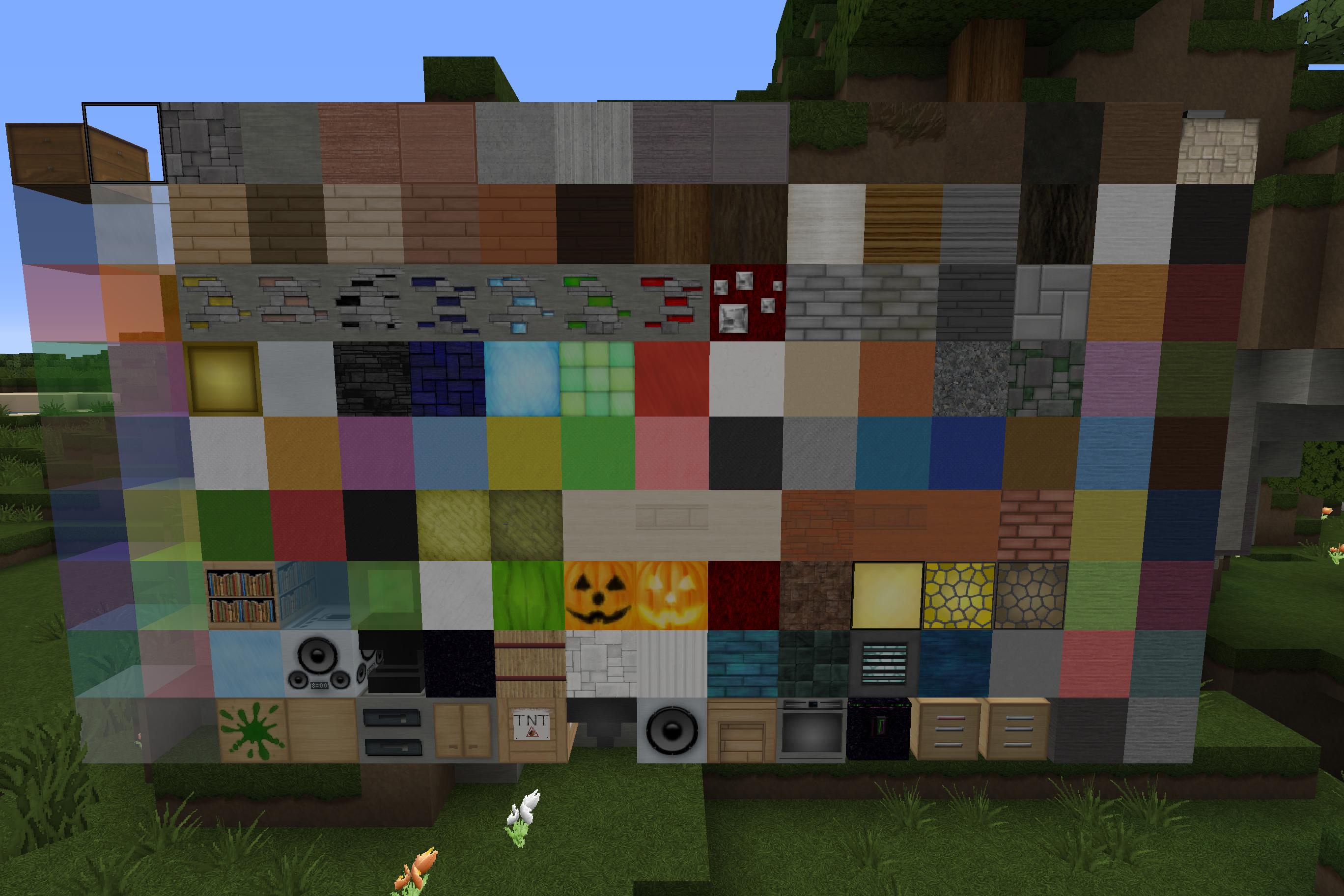 Minecraft : texture minecraft : modern hd