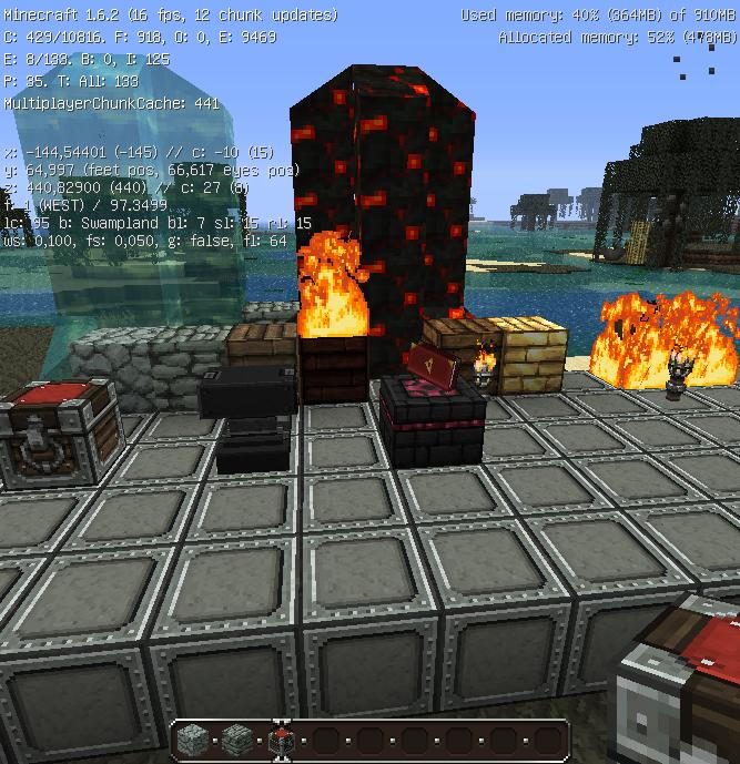 Minecraft : Textures packs pour Minecraft