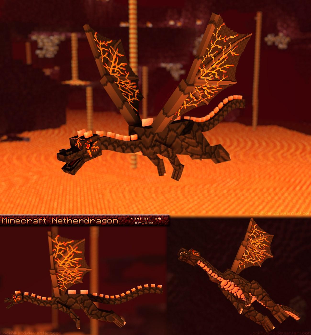 Minecraft Texture Minecraft Netherdragon 1 8 8