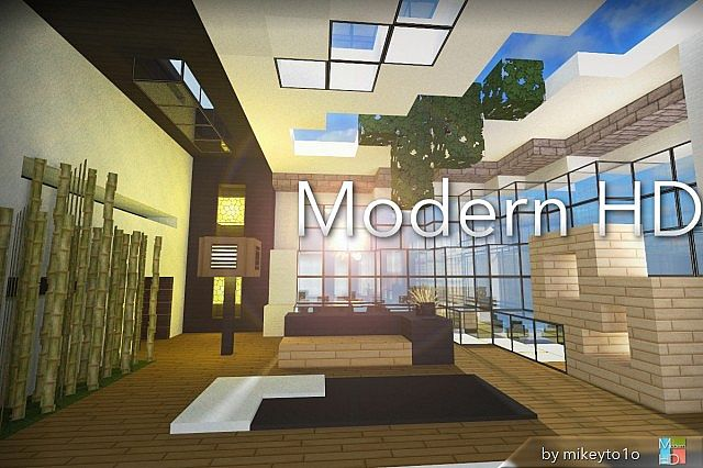 Minecraft texture minecraft hd moderne 1 7 6 for Minecraft modernes haus download 1 7 2