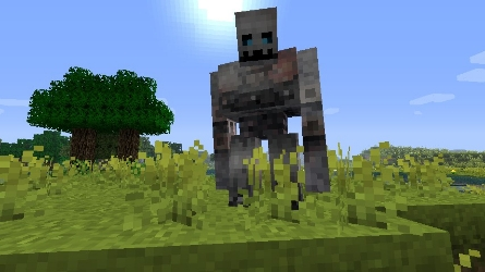 Minecraft texture minecraft forgotten lands 1 4 - Minecraft golem de fer ...