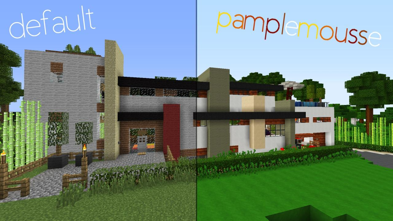 Minecraft texture minecraft pamplemousse 1 6 4 for Minecraft modernes haus download 1 7 2
