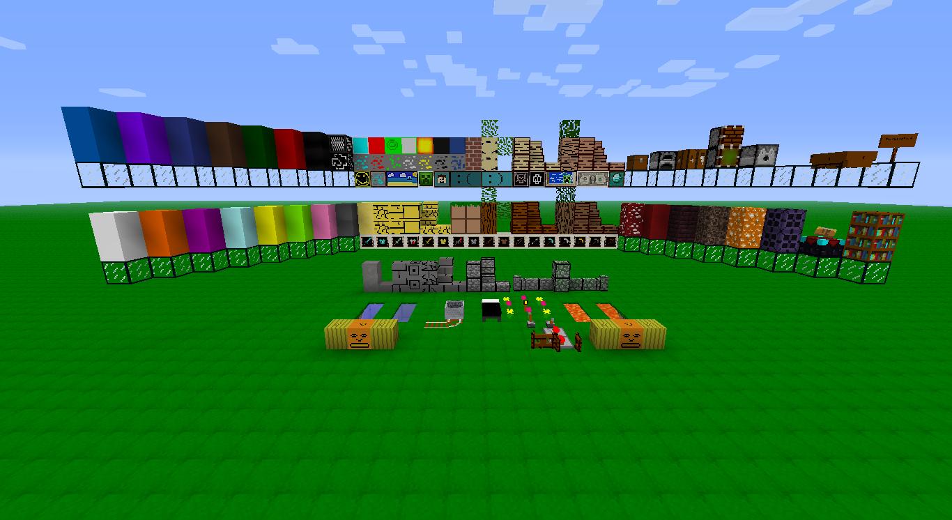 Pack Texture Minecraft. Textures pour Minecraft.