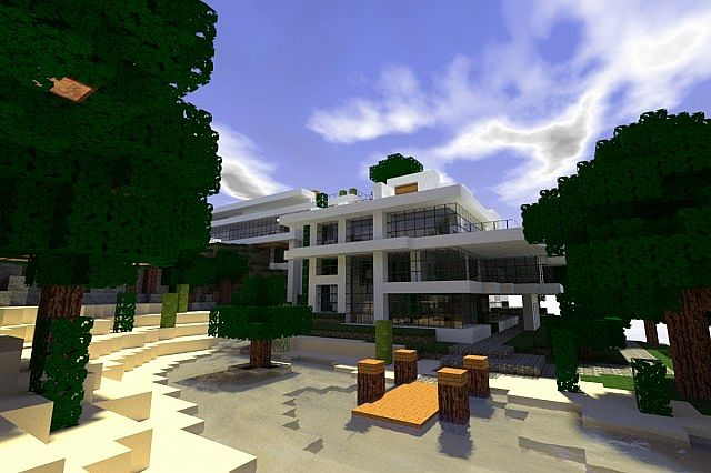 Minecraft texture minecraft modern hd 1 8 8 for Minecraft modernes haus download 1 7 2
