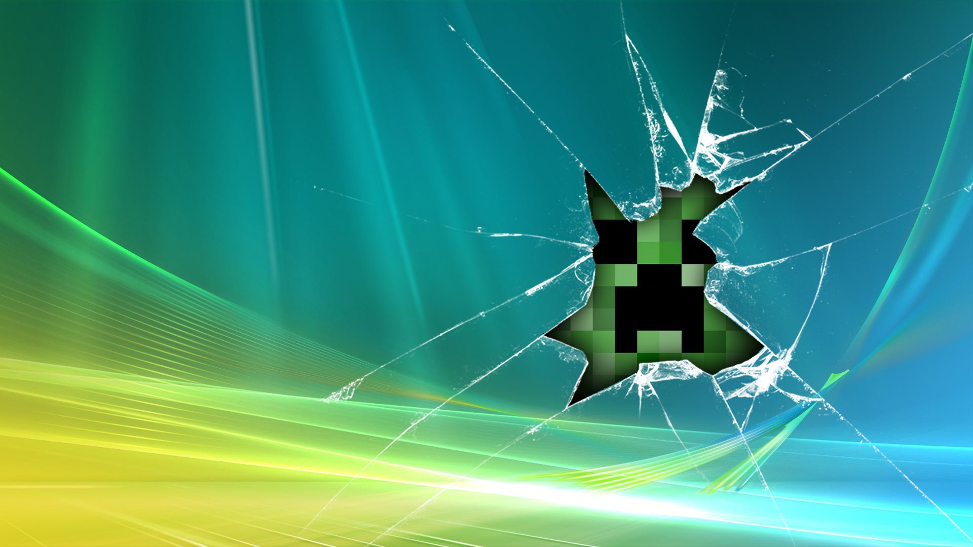 minecraft creeper wallpaper windows