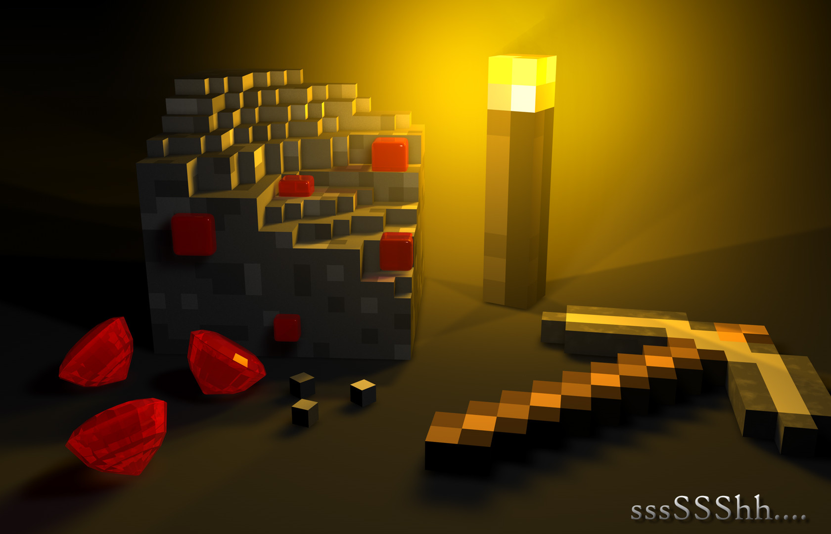 Minecraft fond d 39 cran minecraft for Fotos 2048x1152