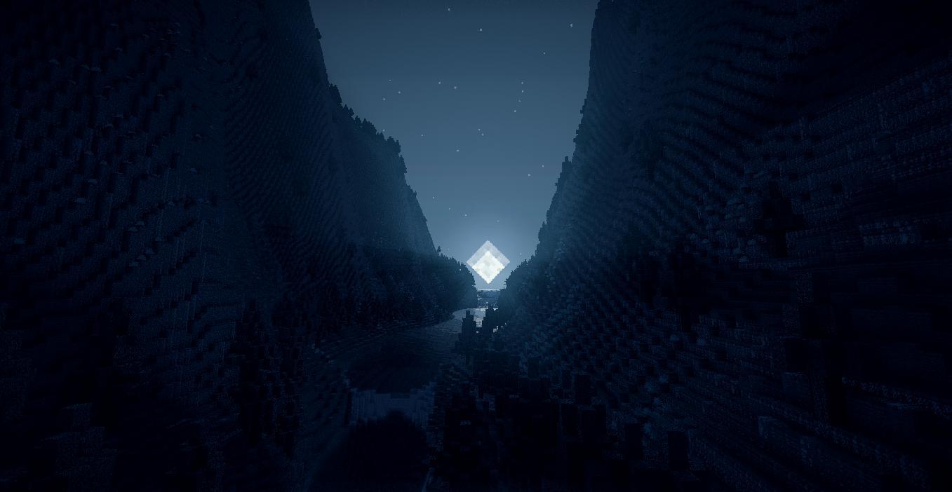 minecraft shader wallpaper pack
