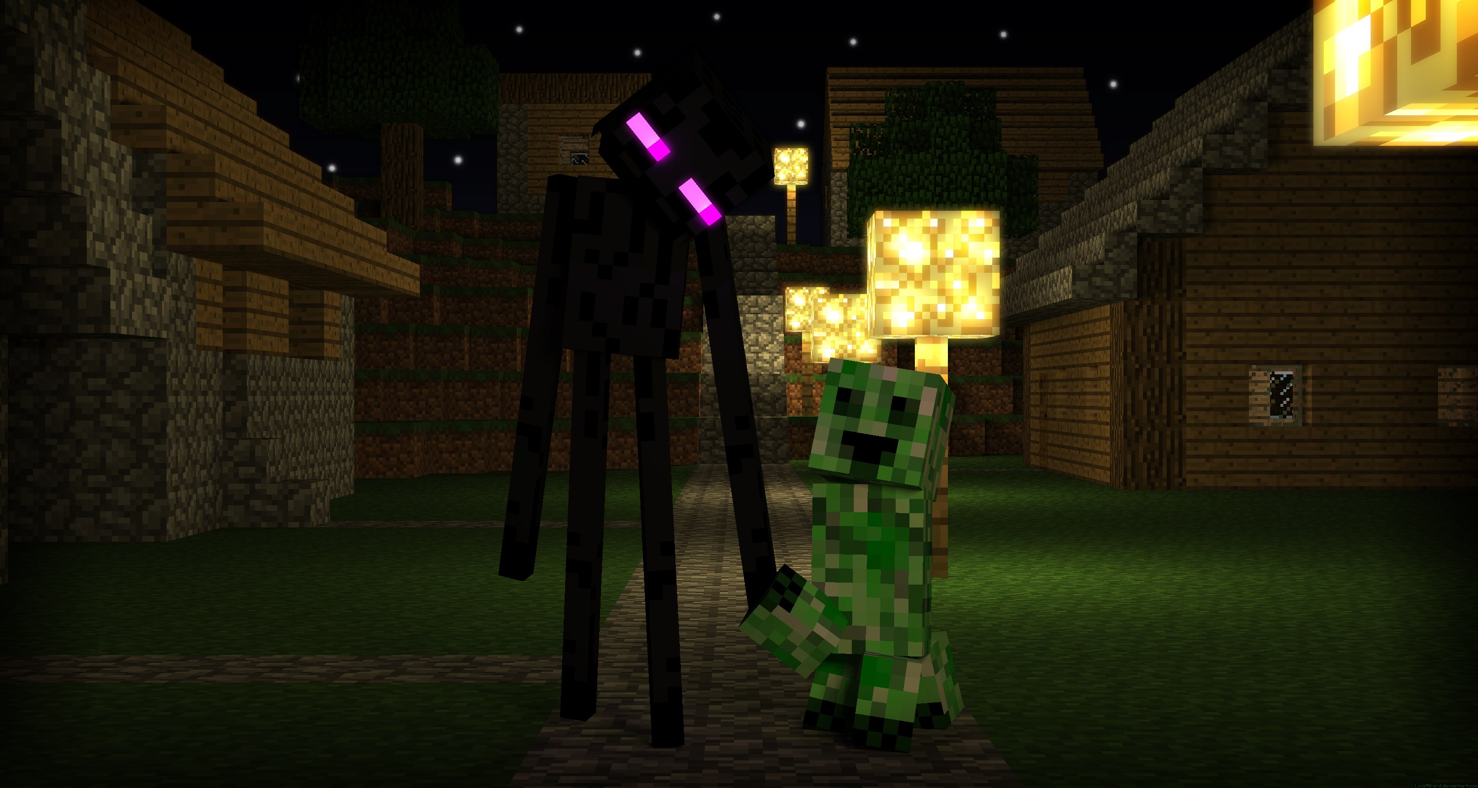 enderman minecraft wallpaper wolf - photo #32